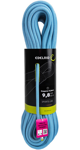 Edelrid SE Emperor Rope 9,8mm 70m Snow/Icemint